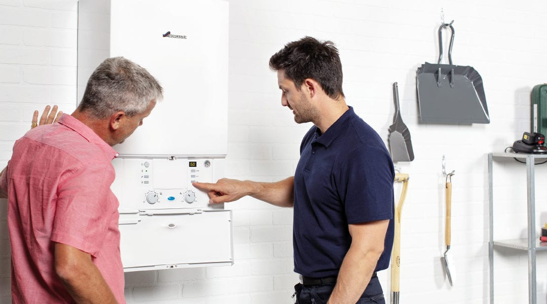 What happens if boiler pressure is too low?